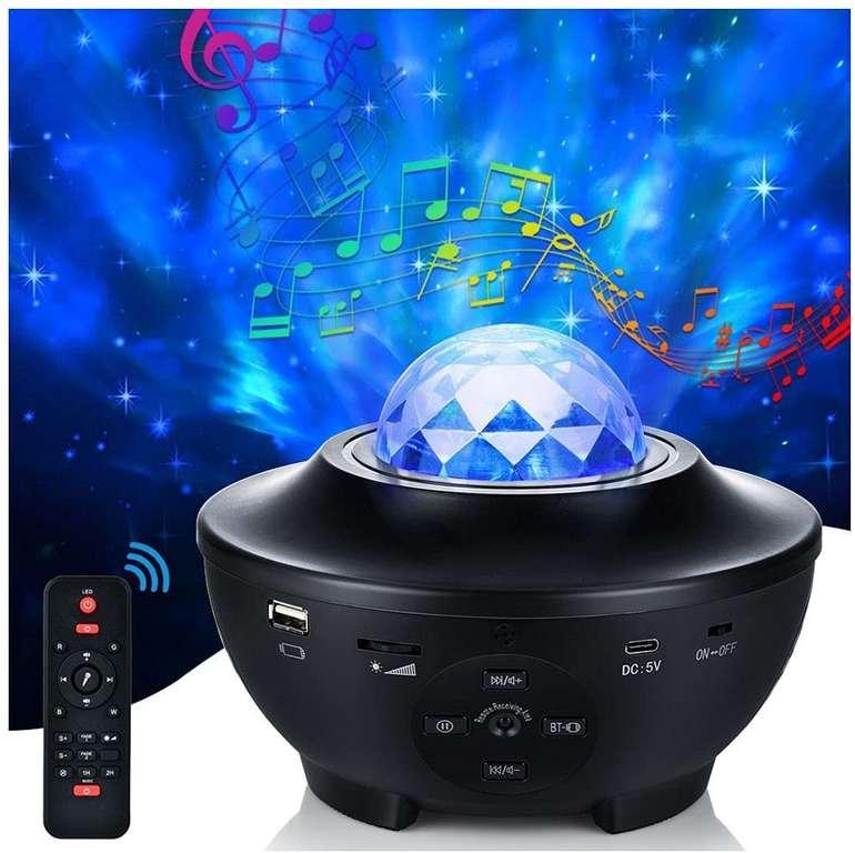Hemuyoa LED Sternenhimmel Projektor mit Lautsprecher für 20,39€ inkl. Versand (statt 34€)