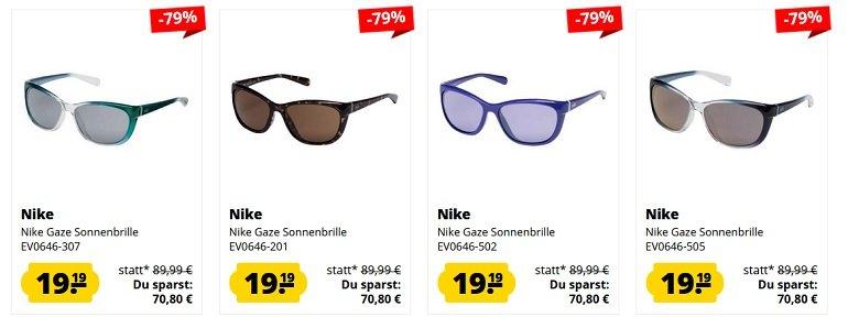 Nike Gaze Sonnenbrillen