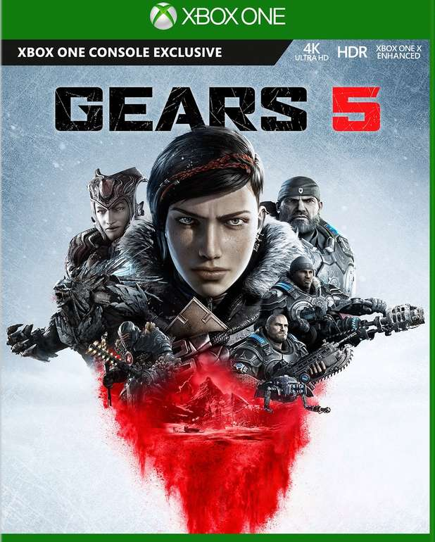 Gears 5 + Gears of War 4 (Xbox One, Play Anywhere Edition) für 14,39€