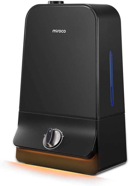 Miroco Luftbefeuchter mit 6 Liter Tank und automatischer Abschalteinrichtung für 16,99€ inkl. Prime Versand
