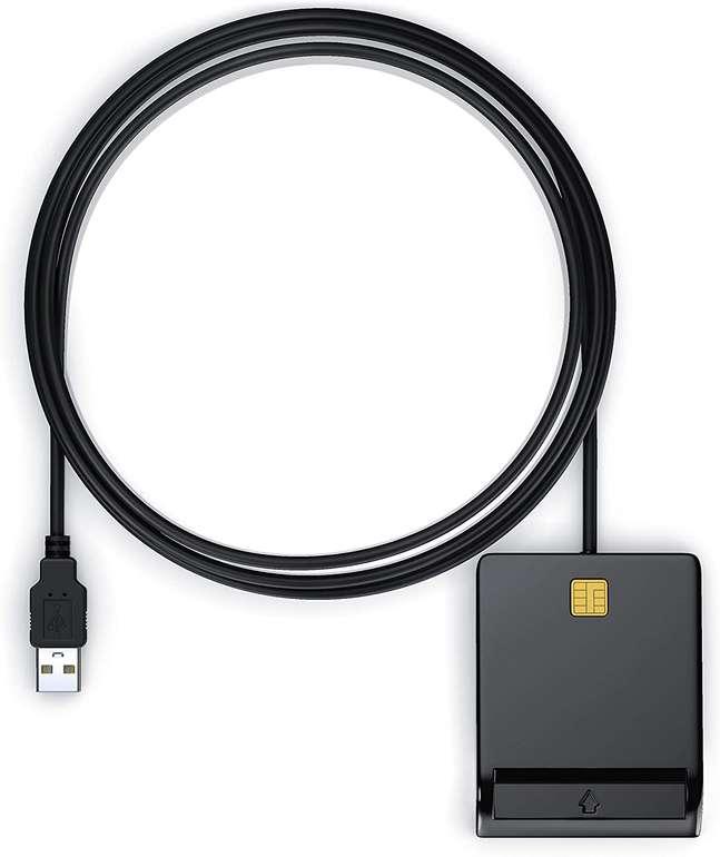 CSL USB-Chipkartenleser (HBCI fähig, Power Status-LED) für 12,99€ inkl. Versand (statt 17€)