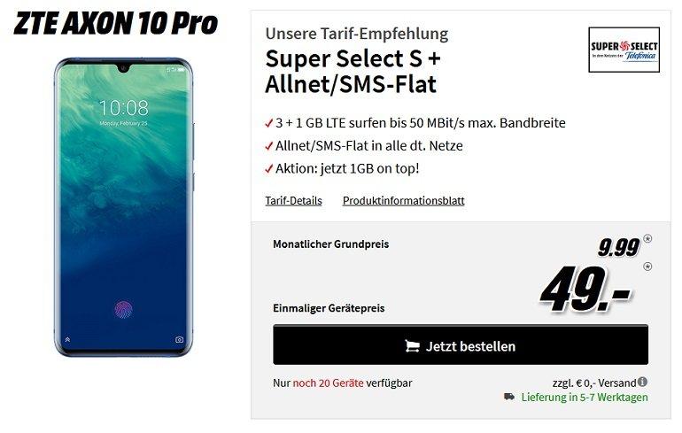 ZTE Axon 10 Pro Super Select 4 GB LTE