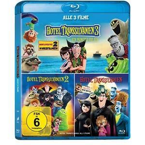Hotel Transsilvanien 1-3 (Blu-ray) für 14,99€ inkl. VSK