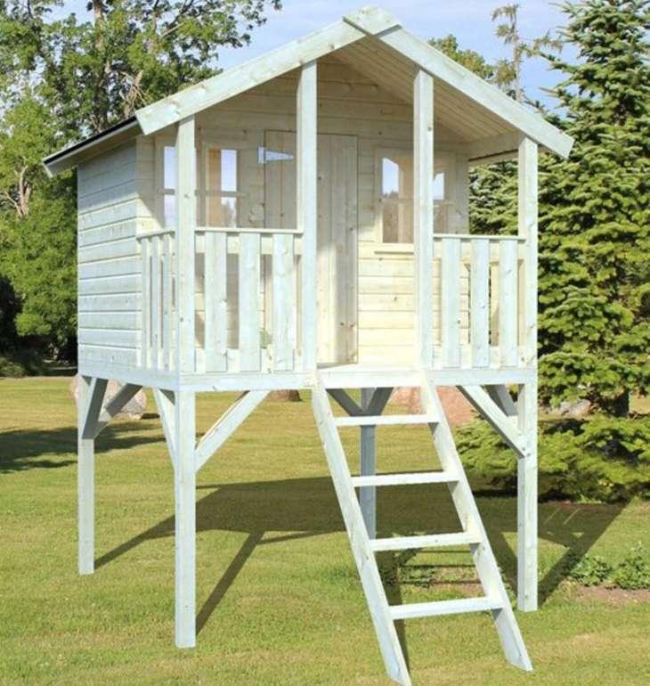 """Palmako Spielturm """"Toby"""" mit Holzleiter (Fichte, 287 x 212 x 284 cm) für 477,82€ inkl. Versand (statt 550€)"""
