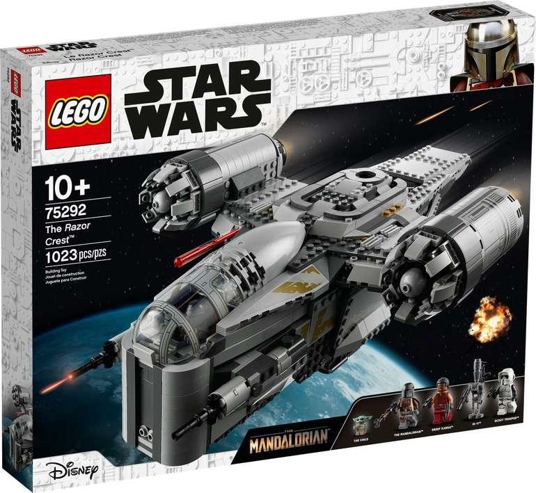 Lego Star Wars - Razor Crest mit Baby Yoda (75292) für 109,50€ inkl. Versand (statt 130€)