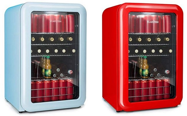 Retro Kühlschrank Klarstein : Klarstein poplife getränkekühler mit liter °c ledu
