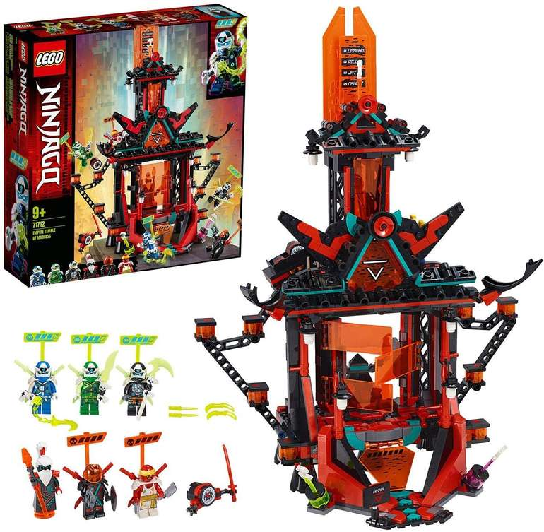 Lego Ninjago 71712 Tempel des Unsinns für 49,54€ inkl. Versand (statt 58€)