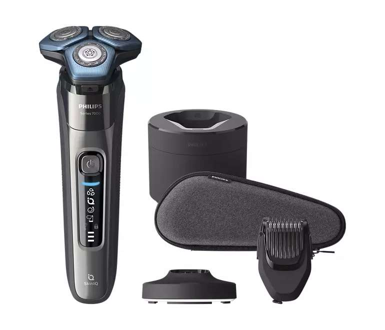 Philips Shaver Series 7000 Elektrischer Nass- und Trockenrasierer S7788/59 für 134,99€ inkl. Versand (statt 168€)