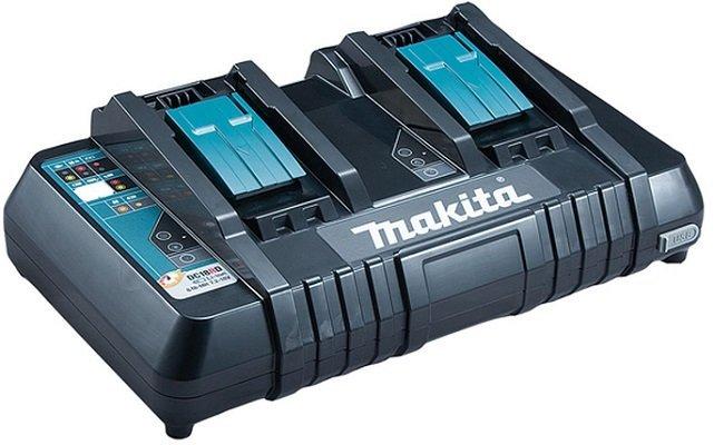 Makita DC18RD Doppelladegerät für 44,49€ inkl. Versand (statt 50€) - Masterpass!