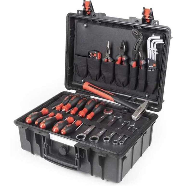 43-tlg. WIHA Werkzeugkoffer Basic Set L (mechanisch) für 212,49€ inkl. Versand (statt 241€)