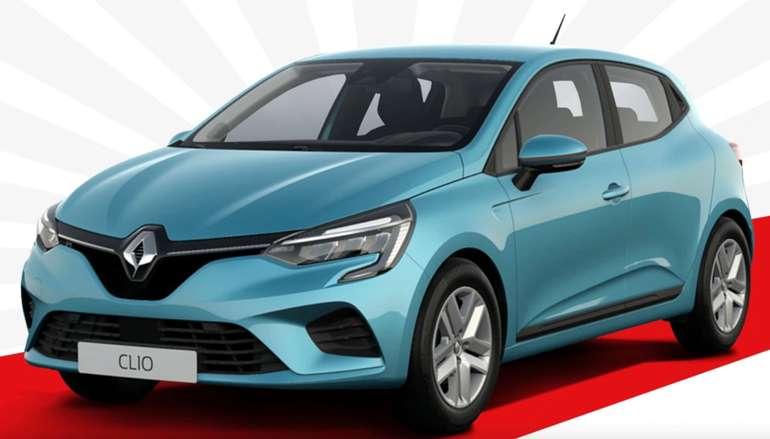 Gewerbe Test-Leasing: Renault Clio - Zen E-Tech 140 (Automatik, 140 PS) für 69€ mtl. (Bereitstellung: 399€, LF: 0.27)