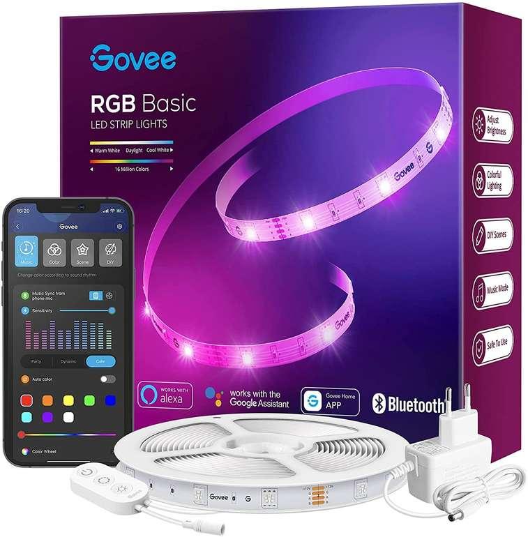 Govee 15m RGB LED Streifen (App, MusicSync, Alexa/Google Assistant) für 29,99€ inkl. Versand (statt 40€)