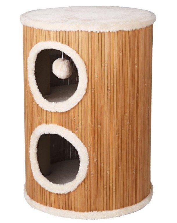 Katzen Kratzbaum aus Bambus für 24,95€ (Vergleich: 34€)