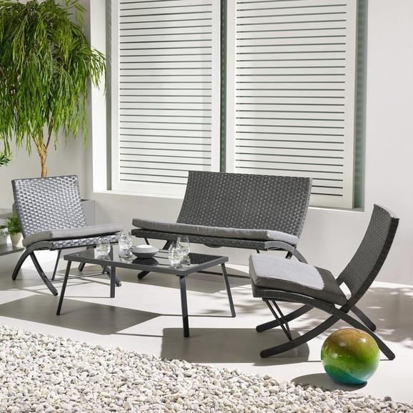 Loungegarnitur Luan mit passenden Auflagen für 69,30€ inkl. Versand
