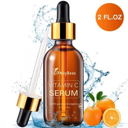 MayBeau 60 ml Vitamin C Serum mit Hyaluronsäure + Vitamin E für 8,95€ (Prime)
