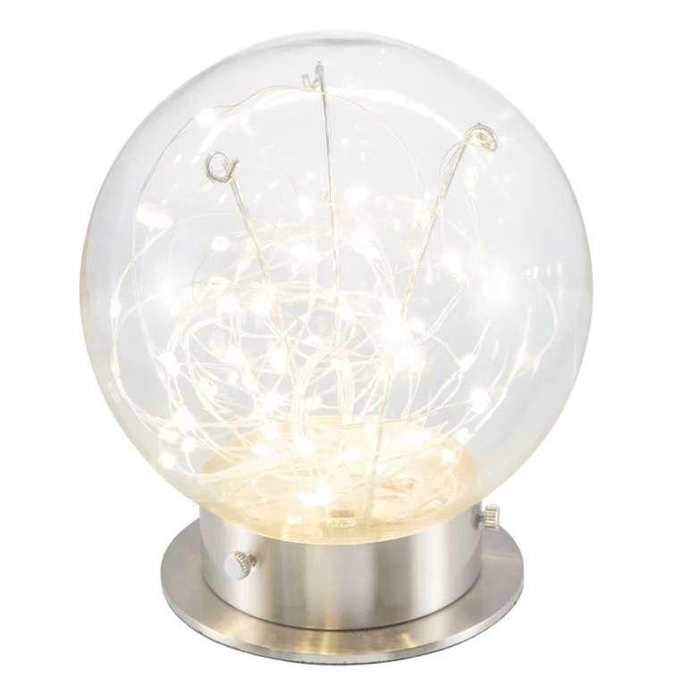 """Nino Leuchten LED-Tischleuchte """"Lights"""" (Ø 20 cm, 8 W, 700 Lumen) für 18,90€ inkl. Versand (statt 55€)"""
