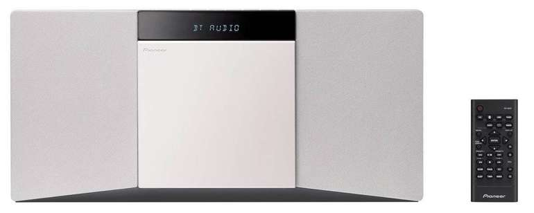 Pioneer Slim CD Microsystem schwarz/ weiß für 79,99€ inkl. Versand (statt 119€)