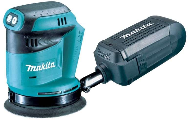 Makita Akku-Exzenterschleifer DBO180Z für 76,49€ inkl. Versand (statt 86€)