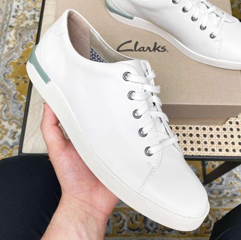 Clarks Stanway Lace Herren Leder Sneaker für 22,61€ inkl. Versand (statt 44€)
