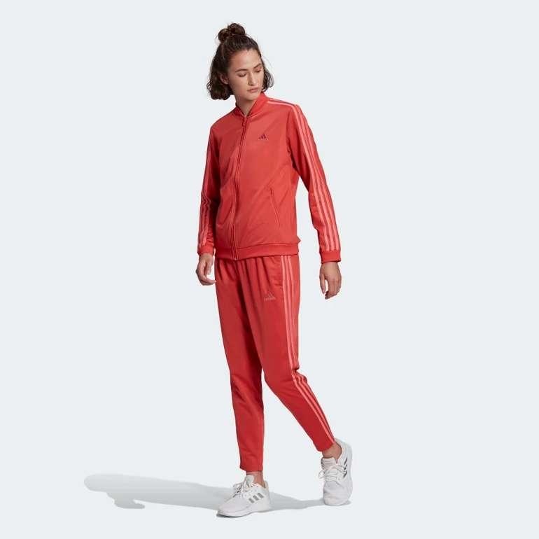 Adidas Essentials 3-Streifen Damen-Trainingsanzug für 38,67€ inkl. Versand (statt 66€)