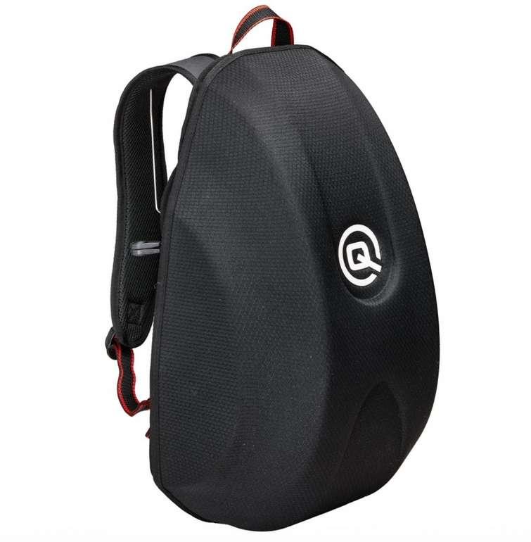 QBag Motorrad Rucksack (Hartschale, 24 Liter Stauraum) für 9,99€ inkl. Versand (statt 13,49€)