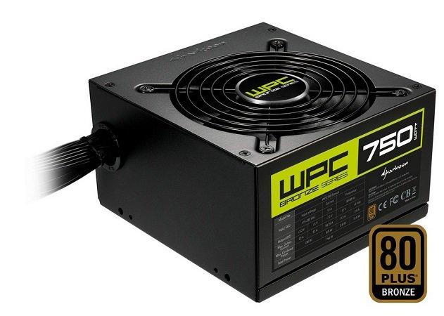 Sharkoon WPC750 Bronze 750W PC-Netzteil für nur 45,98€ (statt 60€)