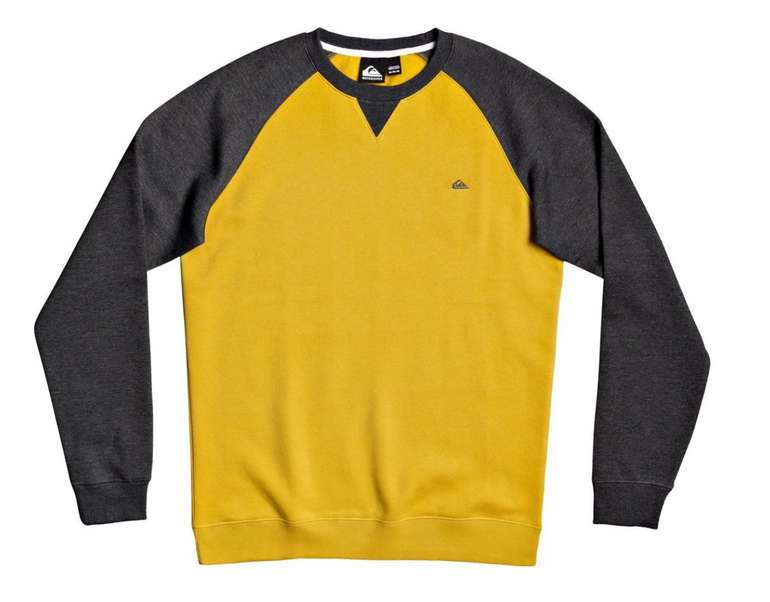 """Quiksilver Sweatshirt """"Everyday"""" in Gelb für 19,06€ inkl. Versand (statt 30€)"""