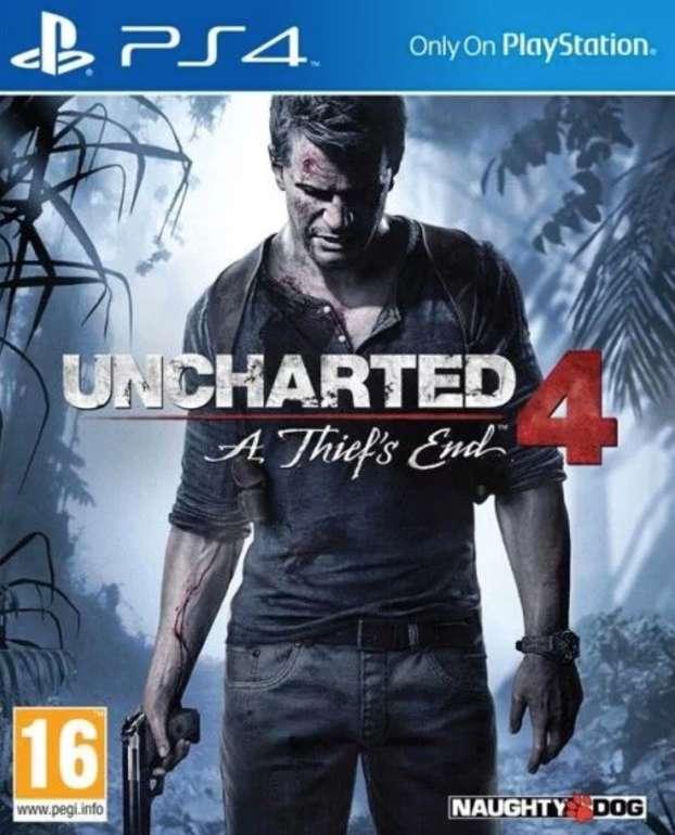 Uncharted 4 - A Thief's End (PS4) für 9,99€ inkl. Versand (Vergleich: 18€)