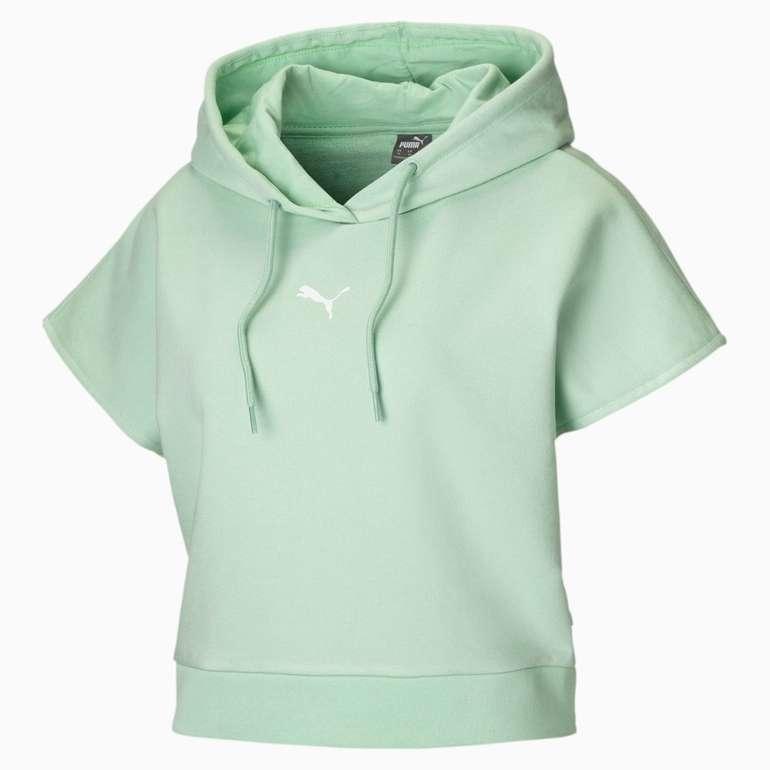 Puma kurzärmliger Damen Hoodie in 3 Farben für je 23,84€ inkl. Versand (statt 40€)