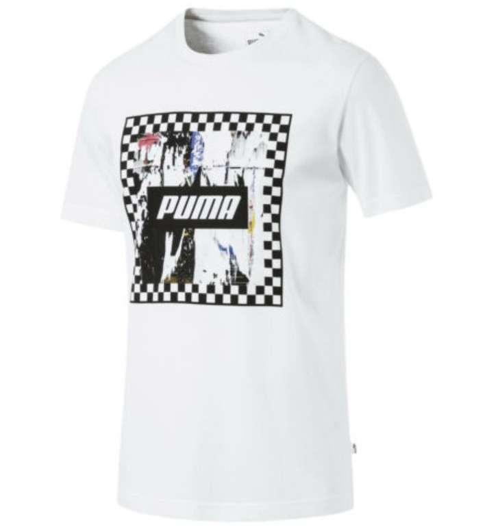 Puma Check Graphic Herren T-Shirts in 3 Farben für je 12,43€ inkl. Versand (statt 16€)