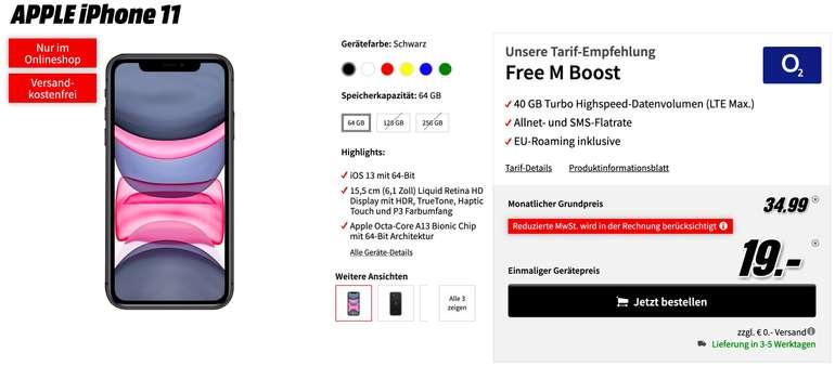 iPhone 11 o2 Free M Boost