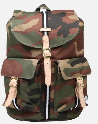 Herschel Dawson Laptop Backpack in woodland camo für 26,91€ (statt 60€)
