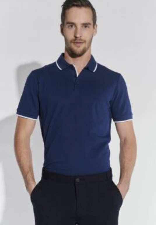 Course Herren Poloshirt in blau für 11,92€inkl. Versand (statt 20€)