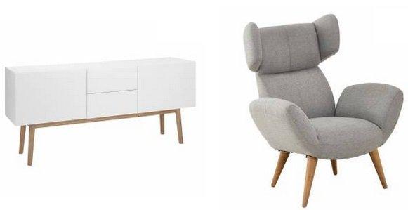 Dänisches Bettenlager mit bis zu -57% Rabatt auf Online+ Möbel z.B Lowboard 299€