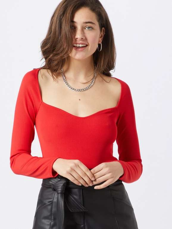 "Ivyrevel Shirt ""Heart"" in feuerrot für 17,77€ inkl. Versand (statt 29€)"