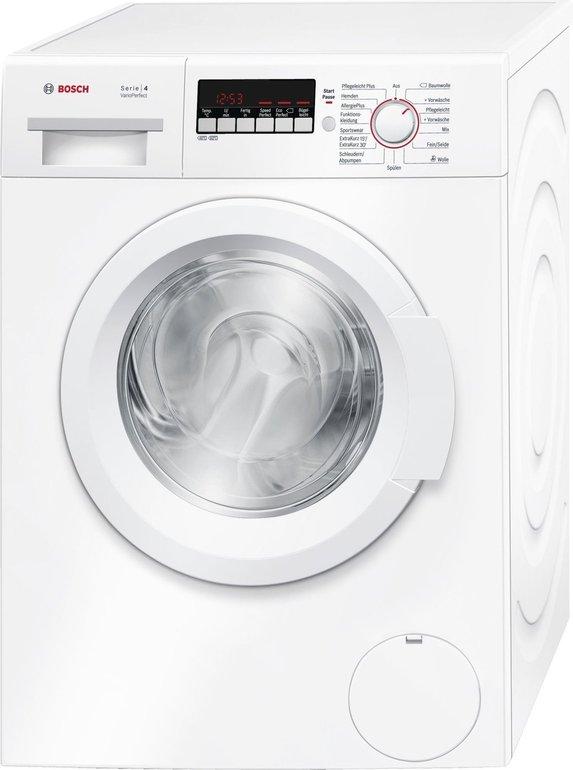 Bosch WAK28227 Waschmaschine mit 7kg Trommel und A+++ für 377€ + 35€ Cashback
