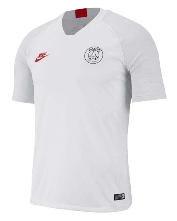 Geomix: PSG Sale mit bis zu 50% Rabatt - z.B Nike Paris St. Germain Trainingsshirt Breathe Strike Top weiß/rot für 31,46€