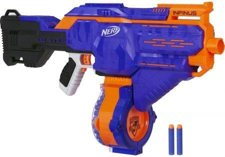 20% Rabatt auf Nerf und Blaster ab 25€ MBW, z.B. N-Strike Elite Infinus 39,99€