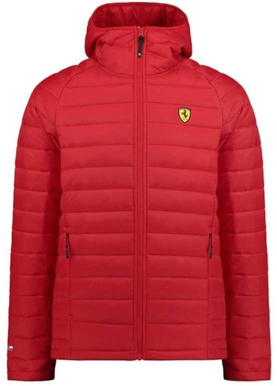 Ferrari Herren Steppjacke in rot für 44,99€ inkl. Versand (statt 65€)