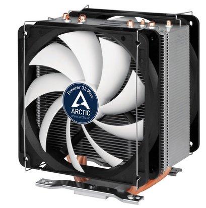 ARCTIC Freezer 33 Plus - Semi-passiver CPU Kühler für 25,99€ inkl. VSK