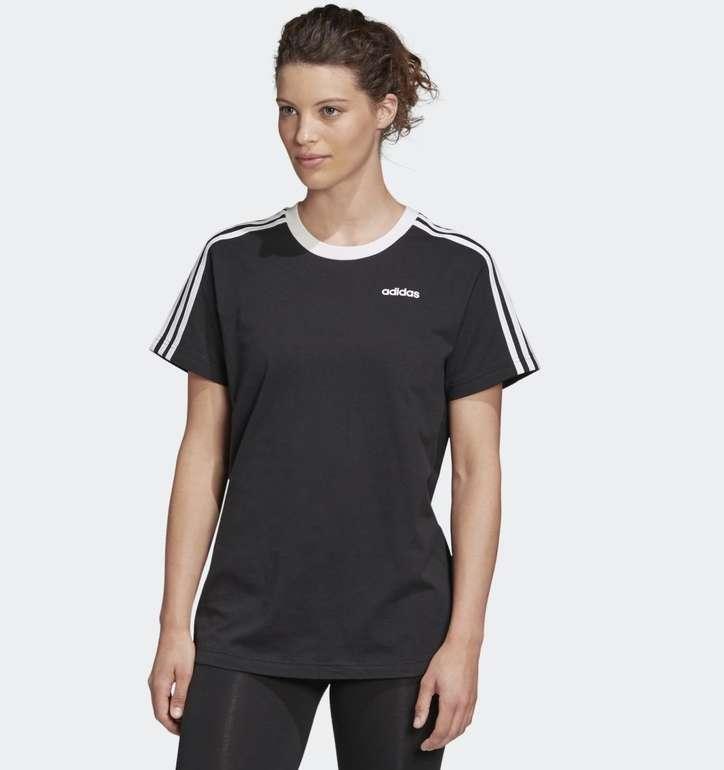 Adidas 3-Streifen Essentials Boyfriend Damen T-Shirt für 14,85€ inkl. Versand (statt 18€) - Creators Club