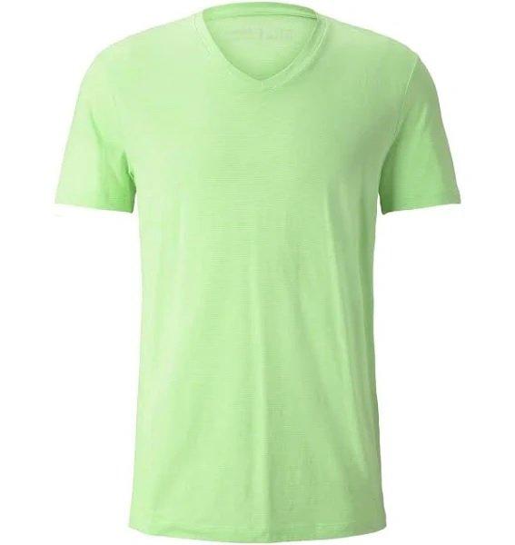 Tom Tailor Denim T-Shirt in neongrün für 9,35€ inkl. Versand (statt 12€)