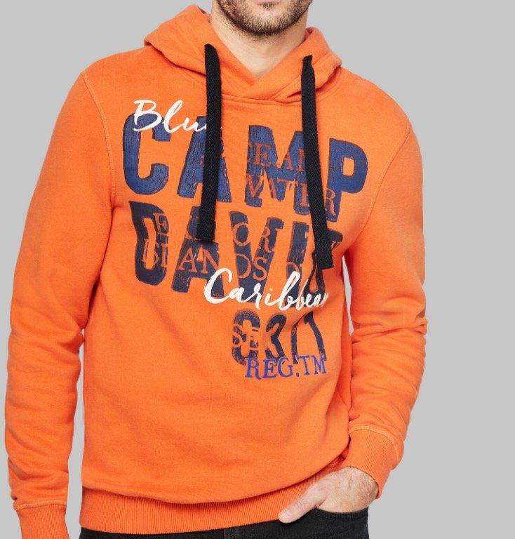 Alles zum 1/2 Preis bei Camp David & Soccx - z.B. Herren Hoodie mit Logo Print für 34,98€ (statt 70€)