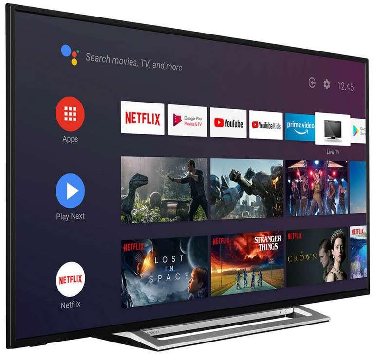 Toshiba TV 58UA3A63DG mit 58 Zoll Fernseher (Smart TV, HDR 4K, HD Dolby) für 404€ inkl. Versand (statt 480€)