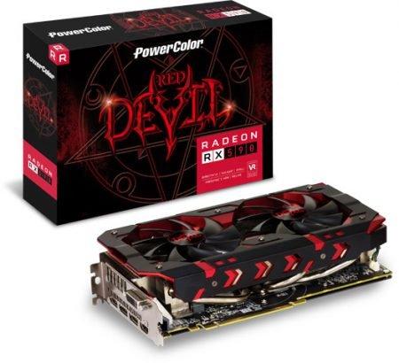 8GB PowerColor Radeon Grafikkarte RX 590 Red Devil + 3 Spiele für 237,99€