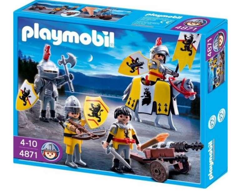 Playmobil Löwenrittertrupp (4871) für 27,98€ inkl. Versand (statt 54€)