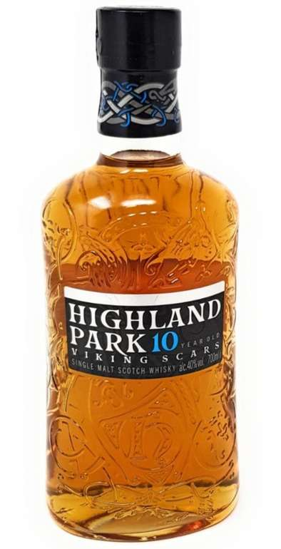 1 Flasche Highland Park 10 Years Old Single Malt Scotch Whisky (0,7 Liter, Alkohol 40% vol.) für 29,99€