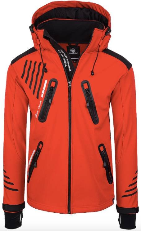 Rock Creek Herren Softshell Jacke bis 4XL für je 39,90€ inkl. Versand