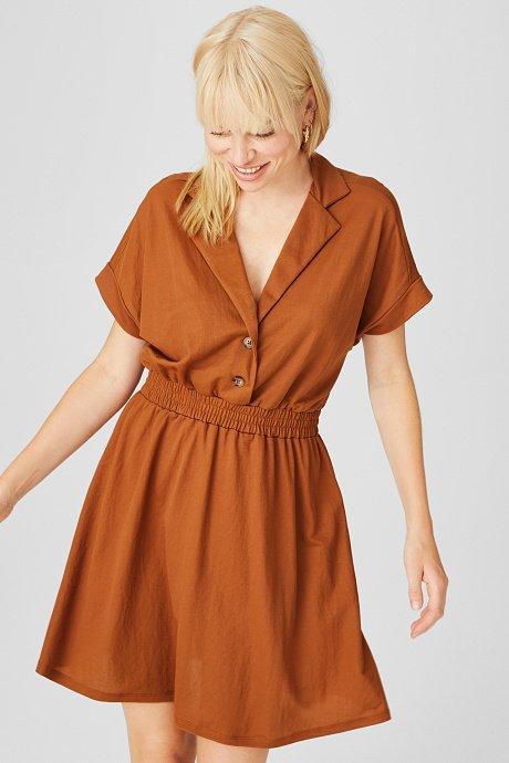 C&A: 25% Rabatt auf Sommerstyles - auch reduzierte Artikel, z.B. Fit & Flare Kleid für 9,74€ (statt 25€)