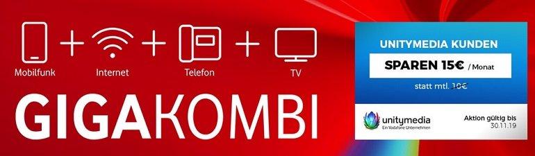 Vodafone GigaKombi Angebote Handyflash